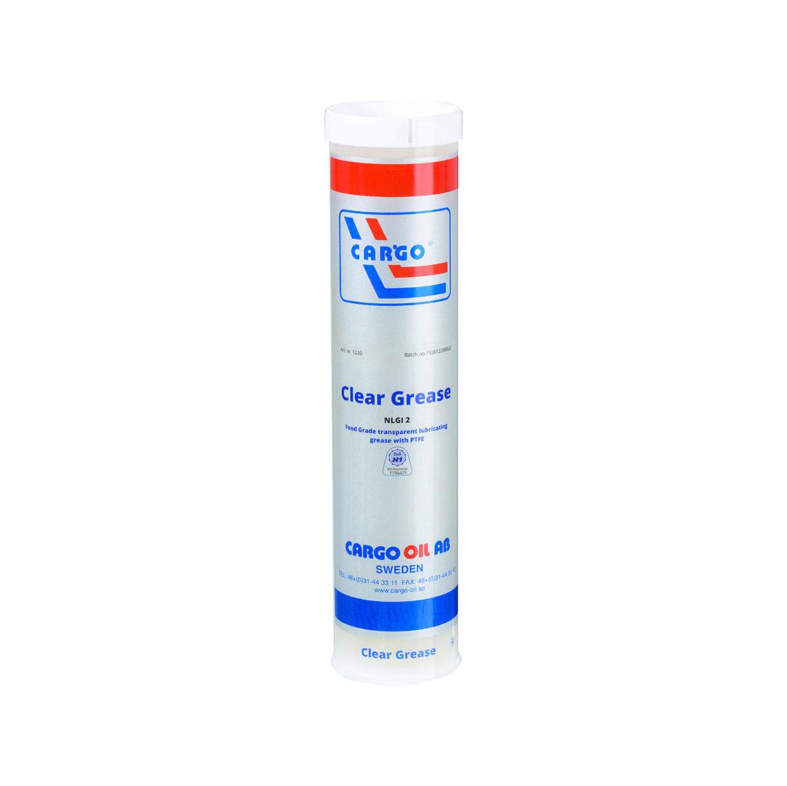 Clear Grease 含PTFE透明合成型润滑脂